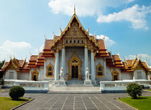 Wat Benchamabophit Dusitvanaram Temple. In Bangkok, Thailand Stock Photography