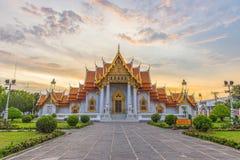 Wat Benchamabophit, het Marmer, Bangkok Royalty-vrije Stock Afbeeldingen