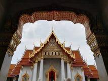 Wat Benchamabophit jest świątynią w Bangkok obrazy stock