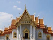 Wat Benchamabophit (Marbel palace) Stock Image
