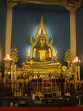Wat Benchamabophit (Marbel palace) Stock Photos
