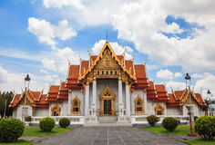 Wat Benchamabophit, Royalty Free Stock Photo