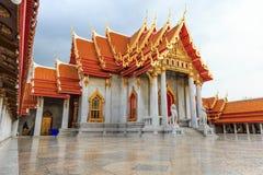 Wat Benchamabophit. The Marble Temple Bangkok, Thailand Stock Photography