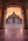 Wat Benchamabophit, Marble Temple, Bangkok, Thailand Stock Image