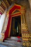 Wat Benchamabophit (Marble temple). Wat Benchamabophit Dusit Wanaram,วัดเบญจมบพิตรดุสิตวนาราม, is a Buddhist Royalty Free Stock Photos