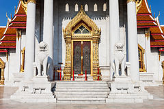 Wat Benchamabophit Temple Stock Images