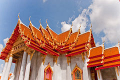 Wat Benchamabophit of  Thailand Royalty Free Stock Photography