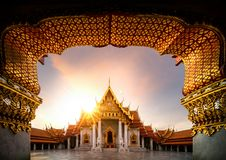 Wat Benchamabophit royalty free stock photo