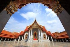 Wat Benchamabopit. At Bangkok Thailand stock image