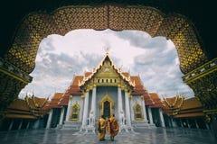 Wat Benchamabopitr Fotografia Stock