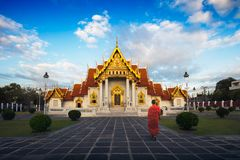 Wat Benchamabopitr royaltyfri fotografi