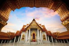 Wat Benchamabopitr lizenzfreie stockbilder