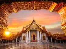 Wat Benchamabopitr Dusitvanaram Imagem de Stock Royalty Free