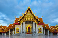 Wat Benchamabopitr Dusitvanaram,The Marble Temple Royalty Free Stock Photos