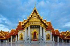Wat Benchamabopitr Dusitvanaram marmortemplet Royaltyfria Foton