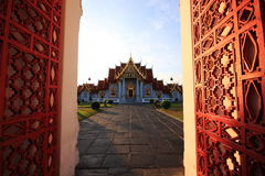 Wat Benchamaborpit. A picture of Wat Benchamaborpit in Thailand Royalty Free Stock Images