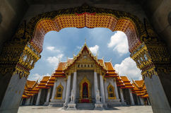Wat Benjamabophit-The Marble Temple in Bangkok, Thailand Stock Photography