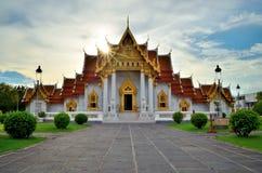 Wat Benjamabopit Dusitwanaram. Temple Of Thailand Royalty Free Stock Images