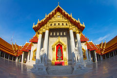 Wat Benjamabopit marble temple. Thailand Stock Image