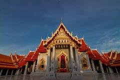 Wat Benjamabopit marmortempel Royaltyfri Bild