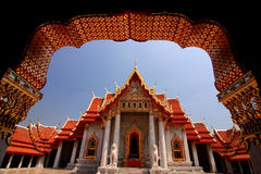 Wat Benjamaborphit 库存照片
