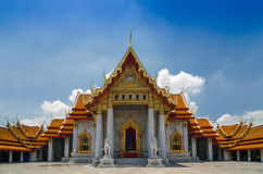 Wat Benjamaborphit or Marble Temple in Bangkok, Thailand Royalty Free Stock Photo