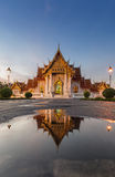 Wat Benjamaborphit or Marble Temple Royalty Free Stock Image