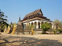 Wat Bo temple stock photos