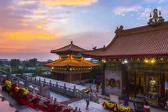 Wat Borom Raja Kanchanapisek Anusorn images stock