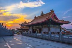 Wat Borom Raja Kanchanapisek Anusorn Stock Images