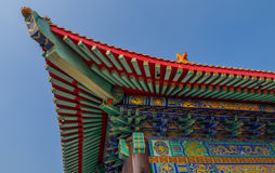 Wat Boromracha Kanchanapisek Anusorn, A Chinese Temple in Nonthaburi, Thailand. Royalty Free Stock Photo