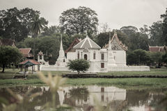 Wat bot manorom, Uthaithani Stock Photos
