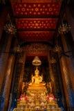 Wat Bovorn (Bowon) Nivet Viharn in Bangkok Stock Image
