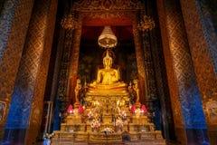 Wat Bovorn (Bowon) Nivet Viharn in Bangkok Royalty Free Stock Images