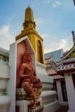 Wat Bowonniwet Vihara, Μπανγκόκ, Ταϊλάνδη Στοκ εικόνες με δικαίωμα ελεύθερης χρήσης