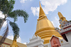 Wat Bowonniwet Vihara Stock Photo