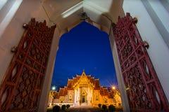 Wat Bowonniwet Vihara. In bangkok Stock Images
