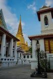 Wat Bowonniwet Vihara, Bangkok, Tailandia Foto de archivo