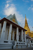 Wat Bowonniwet Vihara, Bangkok, Tailandia Foto de archivo libre de regalías