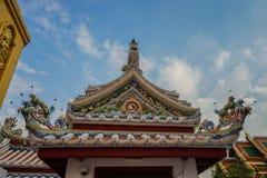 Wat Bowonniwet Vihara, Bangkok, Tailandia Fotografía de archivo libre de regalías