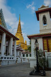 Wat Bowonniwet Vihara, Bangkok, Thaïlande Photo stock