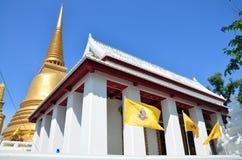 Wat Bowonniwet Vihara eller Wat Bowon Arkivfoto