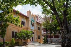 Wat Bowonniwet Vihara Rajavaravihara fotografía de archivo libre de regalías