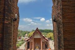 Wat budista antiguo Imágenes de archivo libres de regalías