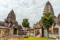 Wat budista, Tailândia do norte Imagens de Stock