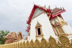Wat Buraparam教堂在素林泰国 库存图片