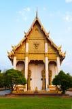 Wat Burapharam, Surin provincie, Noordoostelijk o Stock Afbeeldingen