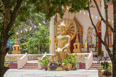 Wat Chaeng, Naton temple, Samui, Thailand Royalty Free Stock Photos