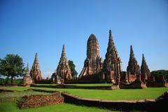Wat Chai Wattanaram Lizenzfreies Stockfoto
