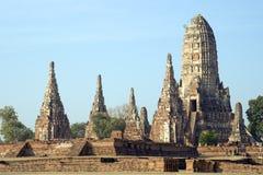 Wat Chai Wattanaram Foto de Stock